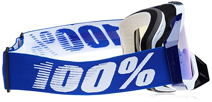 Amazon.com: 100% 50110-002-02 unisex-adult Goggle (Cobalt/Mirror Blue,One Size) (RACECRAFT RC COB BlueE Mirror Lens Blue): Automotive