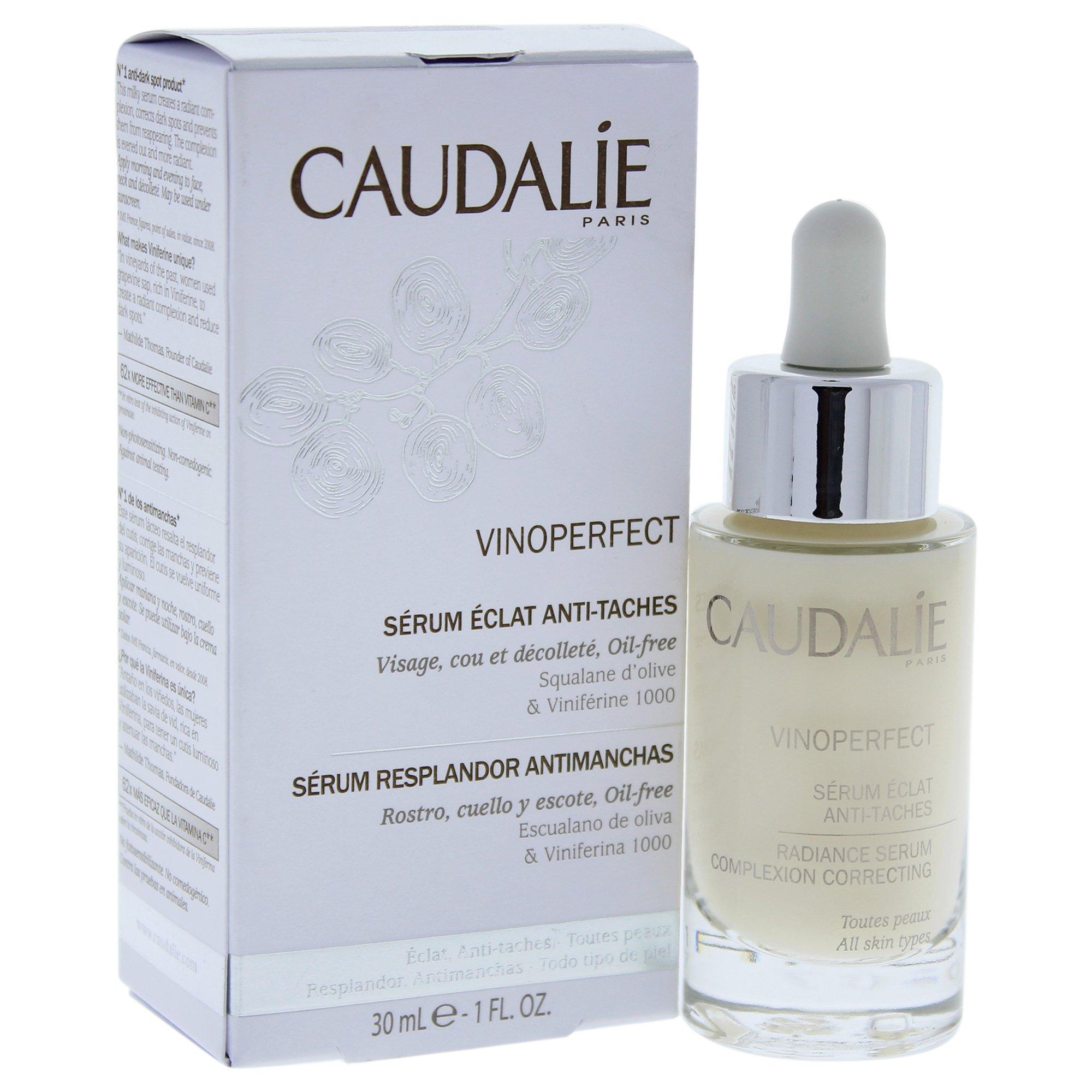 Caudalie Vino Perfect Radiance Serum for Women, 1 Ounce