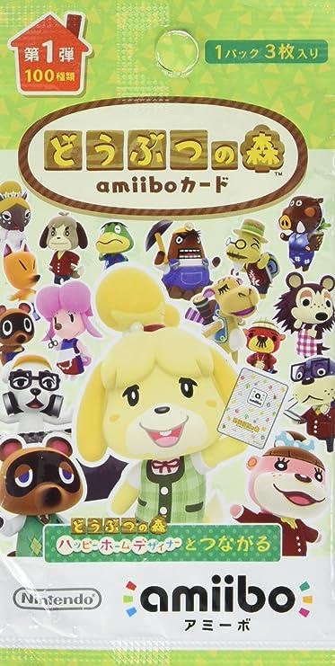 Animal Crossing / Doubutsu no Mori - Amiibo Card First Series Volume 1 [Wii U/3DS] [Importación Japonesa]: Amazon.es: Videojuegos