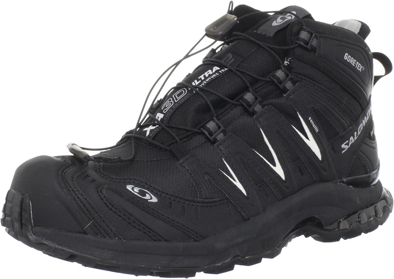 Salomon - Zapatillas de running para mujer Negro negro, color Negro, talla 43 1/3 EU   9 UK: Amazon.es: Zapatos y complementos