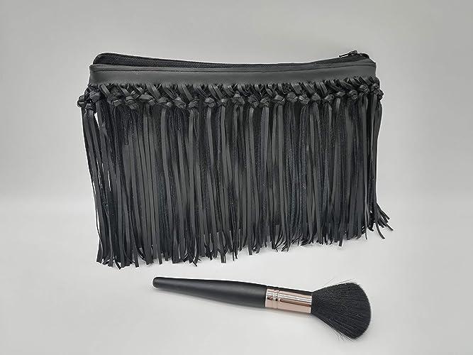 ac5a839c8 Fringe Clutch Bag, totalmente impermeable, bolsa de cosméticos, monederos,  bolsa de maquillaje