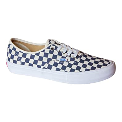a828ff7b3ff Vans Men s Authentic Pro Skate Shoe (Checkerboard Navy