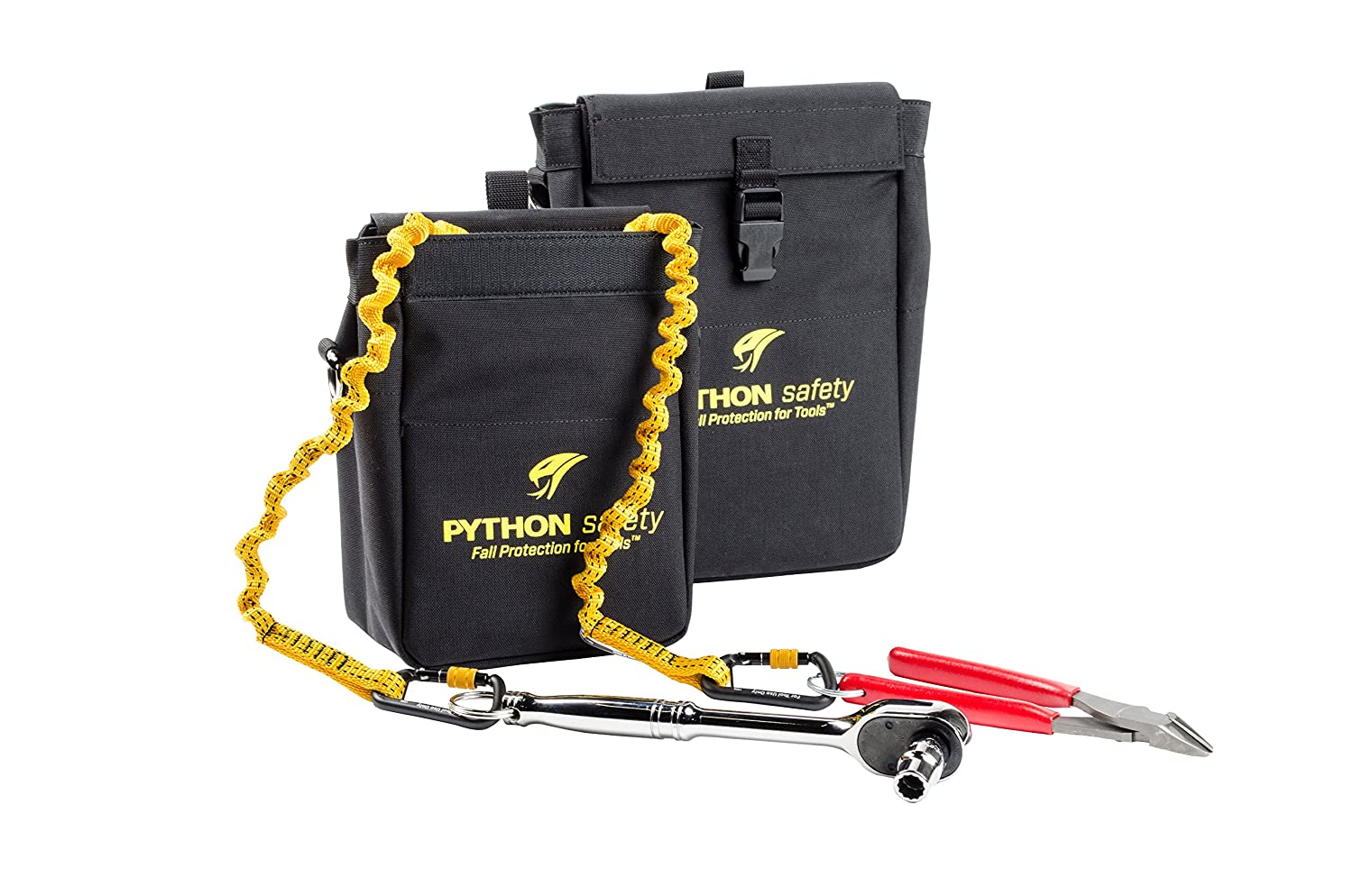 3M DBI-SALA Fall Protection For Tools w//Inner Lining Prevents Punctures and 2 Triggers JH Williams Tool Group PCH-TOOLXDTRIG Made w//Heavy Duty Durable Canvas 1500129 Extra Deep