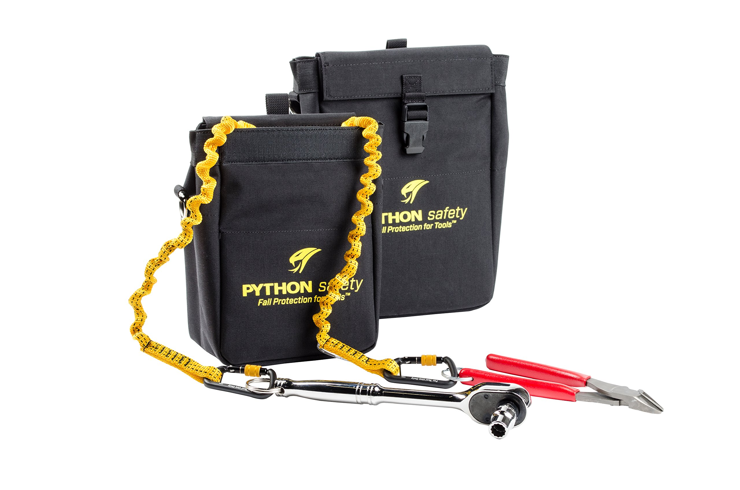 3M DBI-SALA Fall Protection For Tools, 1500125,Made w/Heavy Duty Durable Canvas, w/Inner Lining Prevents Punctures, w/2 Retractors