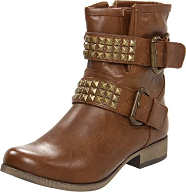MIA Women's Crusader Ankle Boot,Tan,6.5 ...