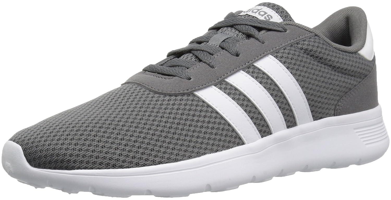 adidas Men's Lite Racer Running Shoe B077XCFR5M 6 D(M) US|Grey Four/White/Grey Four