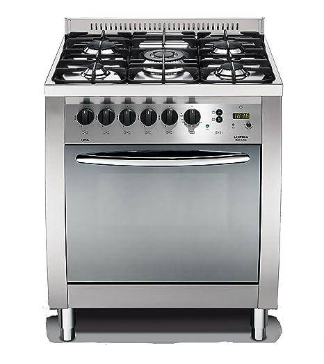 Lofra C76MF/C Cucina a Gas, Acciaio: Amazon.it: Grandi elettrodomestici