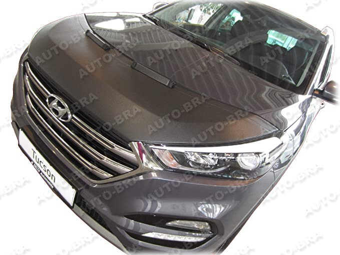Auto-Bra AB3-00603 Carbon Optik kompatibel mit Hyundai Tucson Bj ab 2020 Haubenbra Steinschlagschutz Tuning