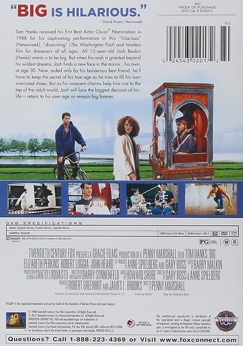 7e8f871bdd7 Amazon.com  Big  Tom Hanks