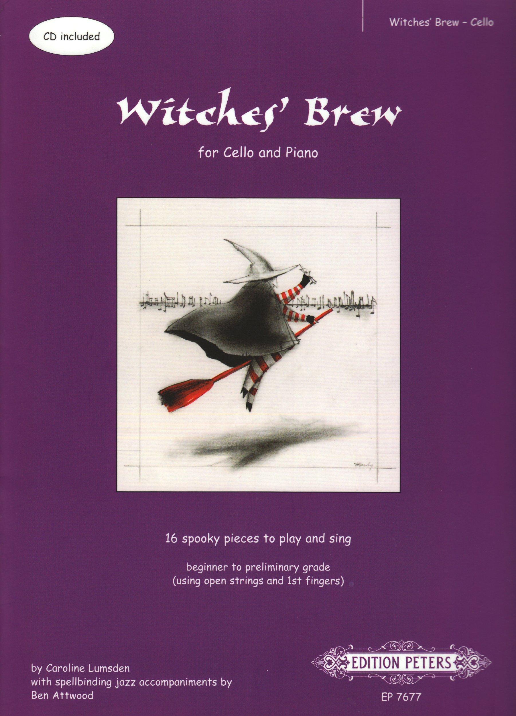 Witches' Brew (Hexenkessel). Violoncello, Klavier