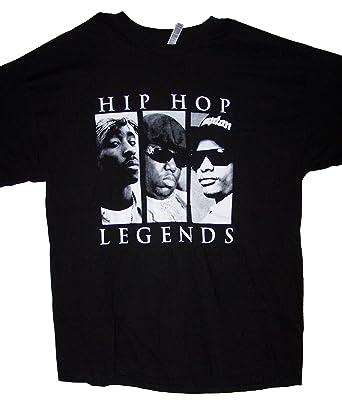 e4223037 Tupac Shakur 2Pac Biggie Big Easy E Hip Hop Legends T-Shirts (HhTs11 Z