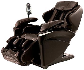 heated massage chair. Panasonic EP Real Pro Luxury Heated Massage Chair, Ultra Prestige 3D, MA73T, Brown Chair