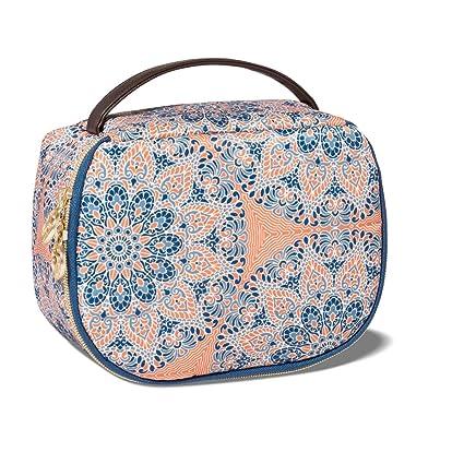 Amazon Com Sonia Kashuk Saddle Makeup Bag Medallion Electronics