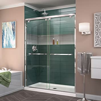 width frameless bypass sliding shower door 5