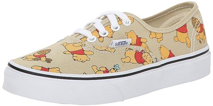 Vans Authentic Sneakers Unisex Kinder Winnie Puuh (Winnie the Pooh)