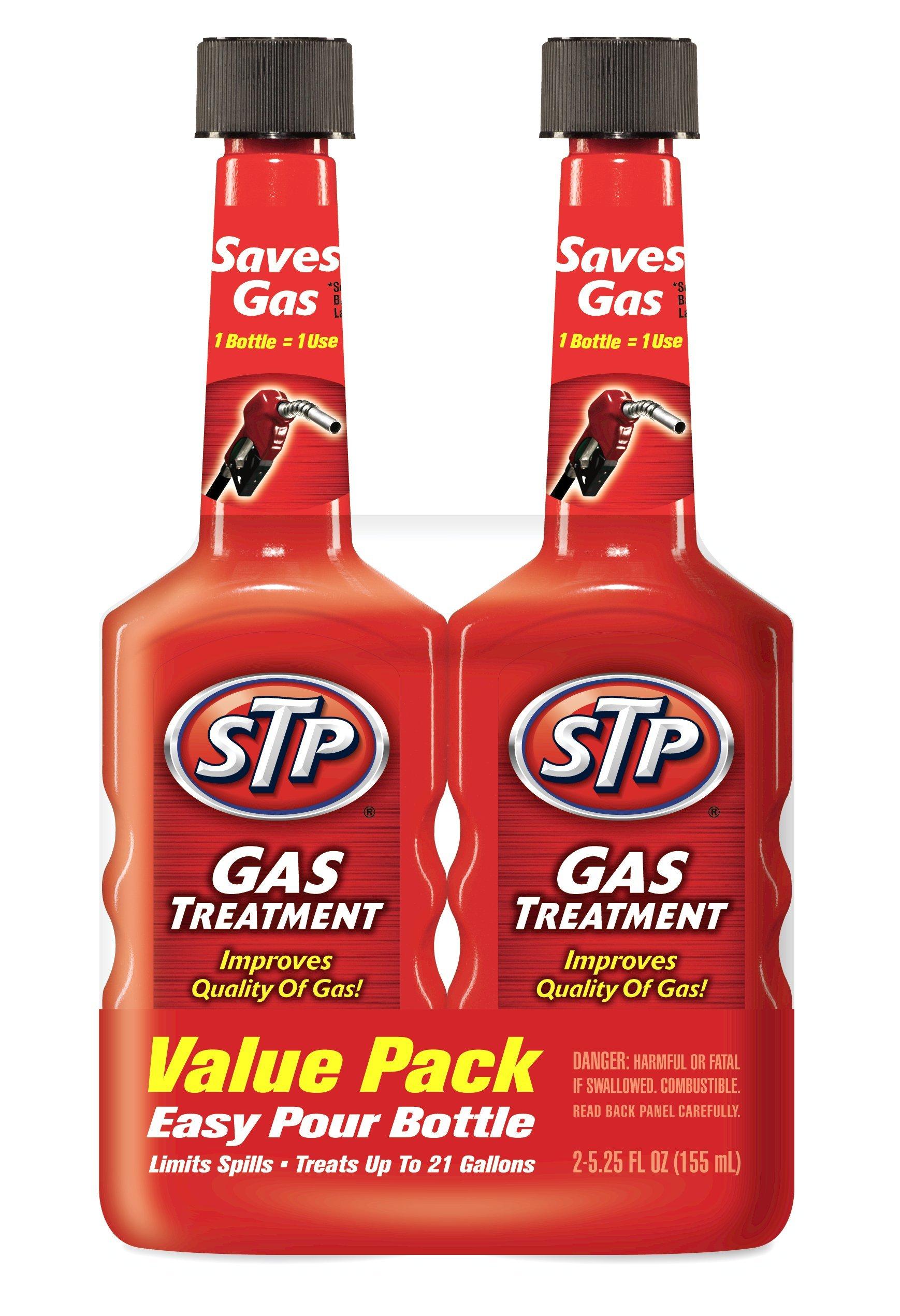 STP Gas Treatment (5.25 fluid ounces) (Case of 6), 78578-6PK