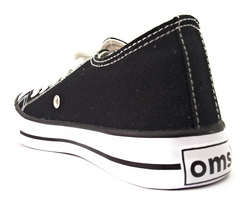 Wpxozkiut Oms Original Unisex Scarpe Sneakers Tipo Nero Canvas Marines TlFJK1c3