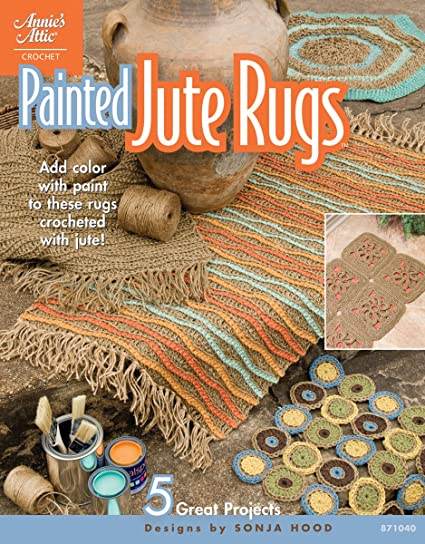 Amazon Painted Jute Rugs Crochet Patterns Arts And Crafts
