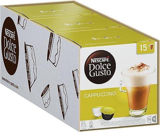 Nescafé Dolce Gusto Cappuccino 30 caja, Café, Cápsulas de Café ...