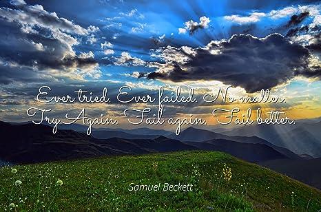 Amazon com: Home Comforts Samuel Beckett - Famous Quotes
