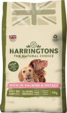 Harringtons Dog Food Complete Rich In Salmon And Potato 12 Kg