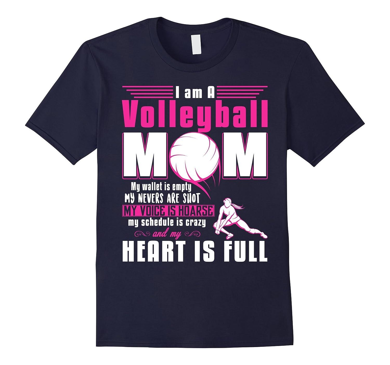 I am a Volleyball Mom T shirt-Art