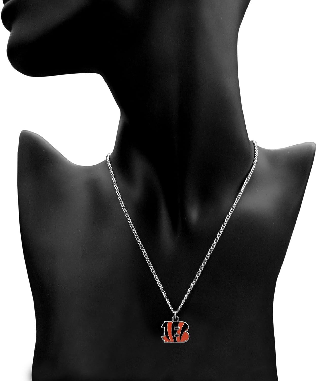 NFL Siskiyou Sports Fan Shop Cincinnati Bengals Chain Necklace 22 inch Team Color