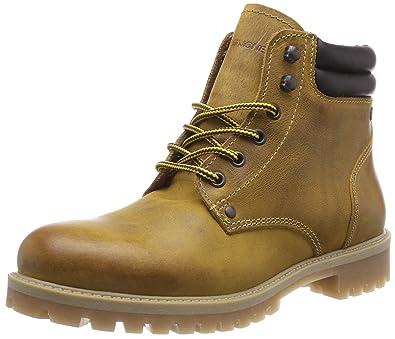 sale online various colors ever popular Jack & Jones Men's Jfwstoke Leather Boot Honey Biker: Amazon ...