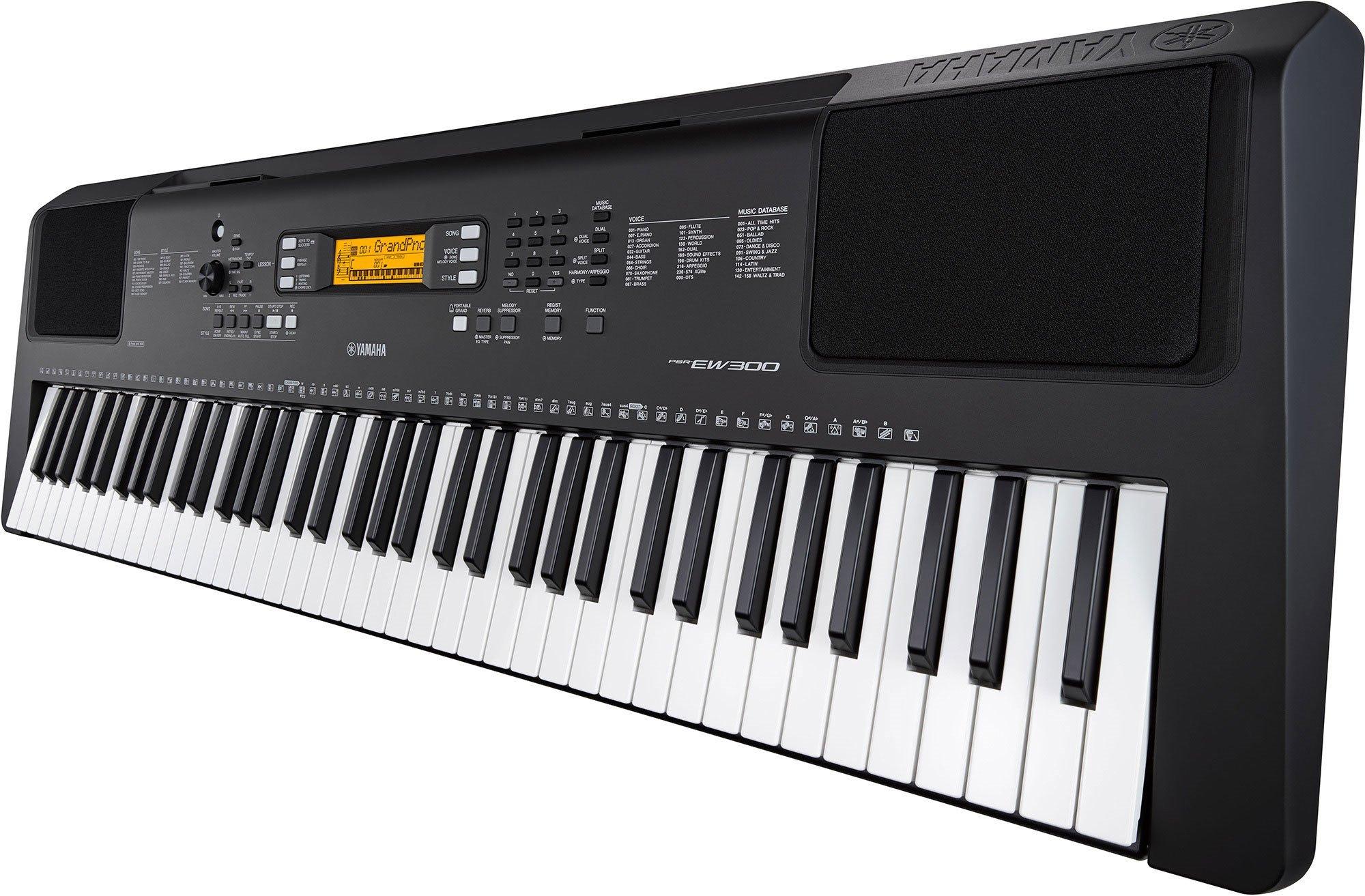 Yamaha PSR-EW300 76-Key Portable Keyboard (power adapter sold separately) by YAMAHA (Image #3)