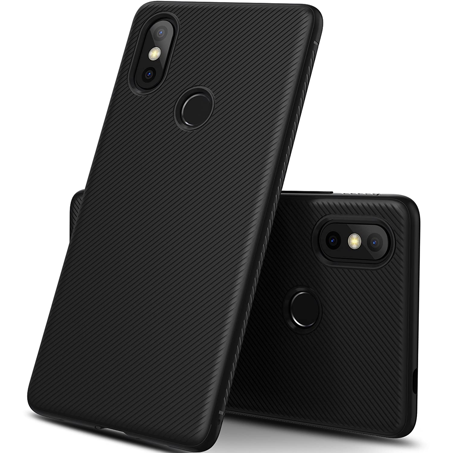 Geemai Xiaomi Mi 8 SE Cover, High Quality Ultra Slim Anti-graffio e Hard Totally Protective Cover per impronte digitali per cover in plastica rigida per smartphone Xiaomi Mi 8 SE. Nero