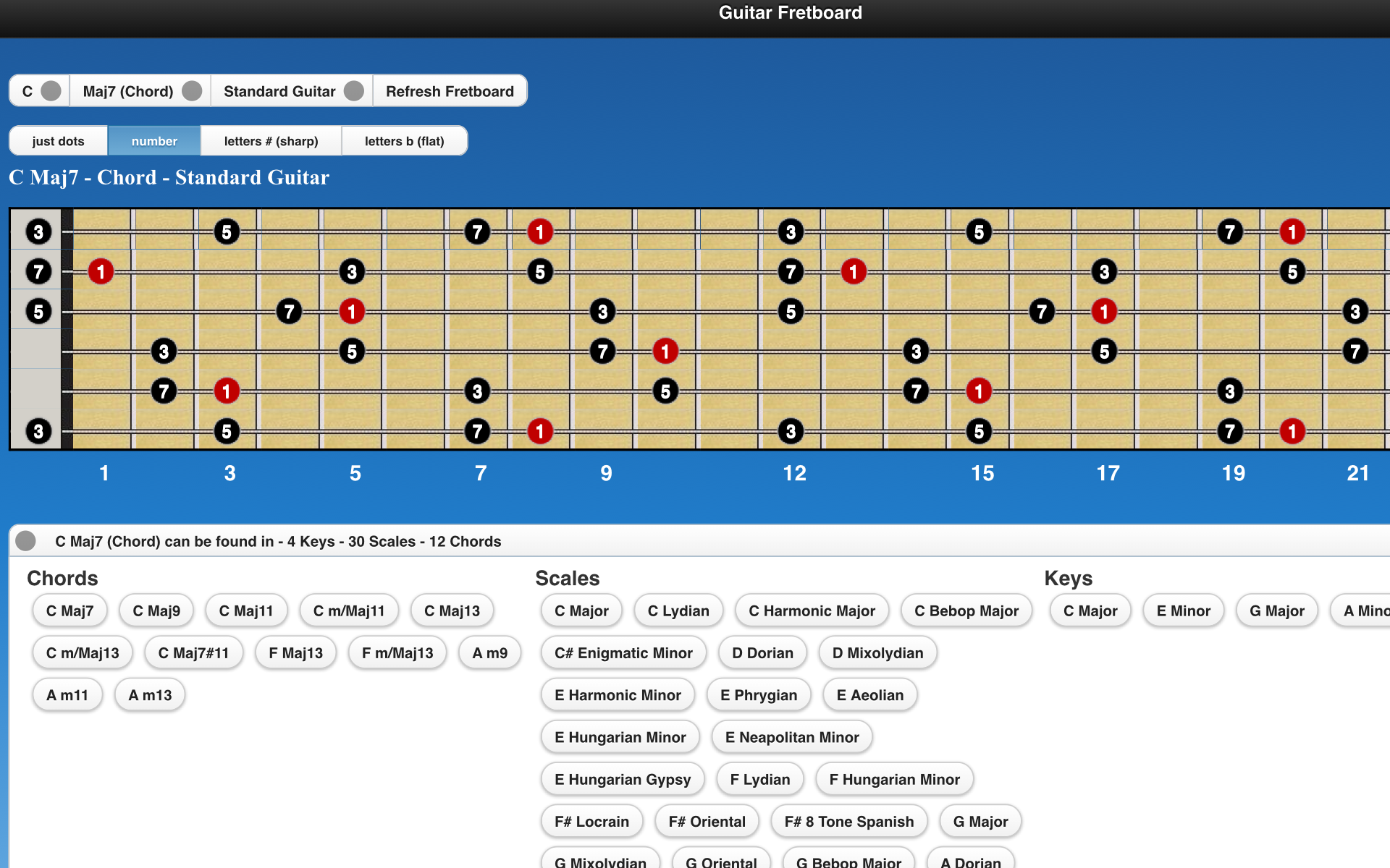 Amazon Guitar Chords And Scales Appstore For Android