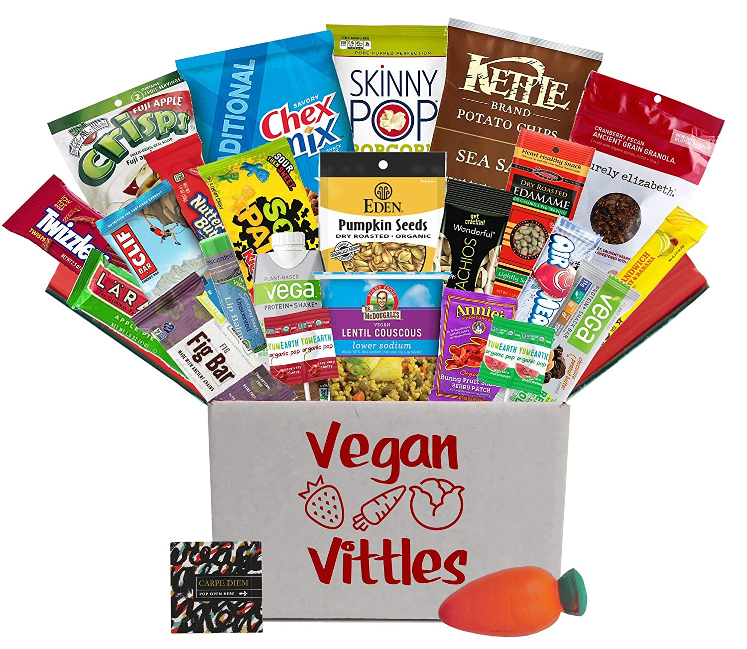 Amazon Vegan Care Package For College Student Birthday Or At Final Exam Time Military Troops Office Meetings Anyone Who Wants To Eat Healthier