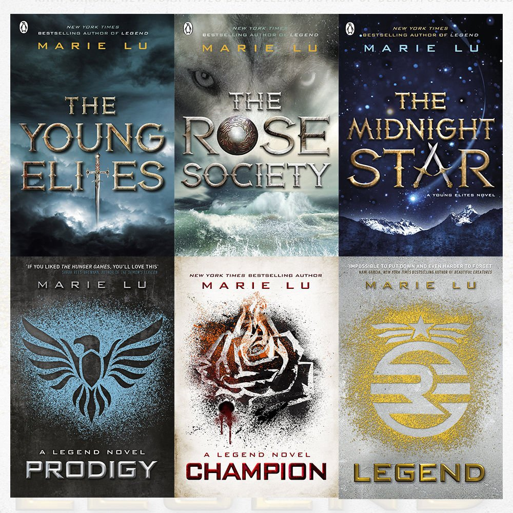 Marie lu collection legend young elites series 6 books bundles marie lu collection legend young elites series 6 books bundles champion the young elites marie lu 9789123614745 amazon books fandeluxe Images