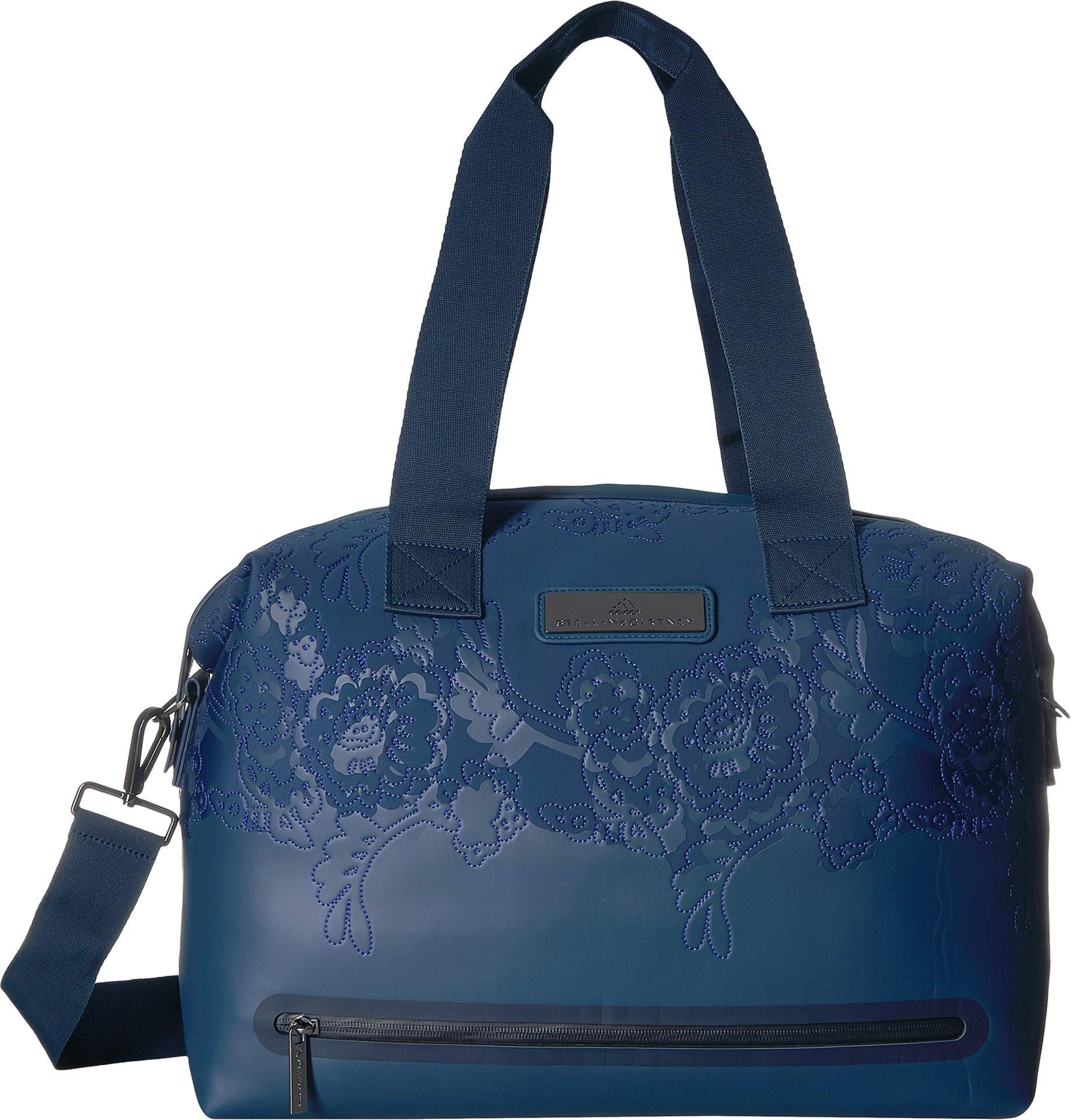 adidas by Stella McCartney Women's Medium Gym Bag, Blue/Bold Blue/Indigo, One Size