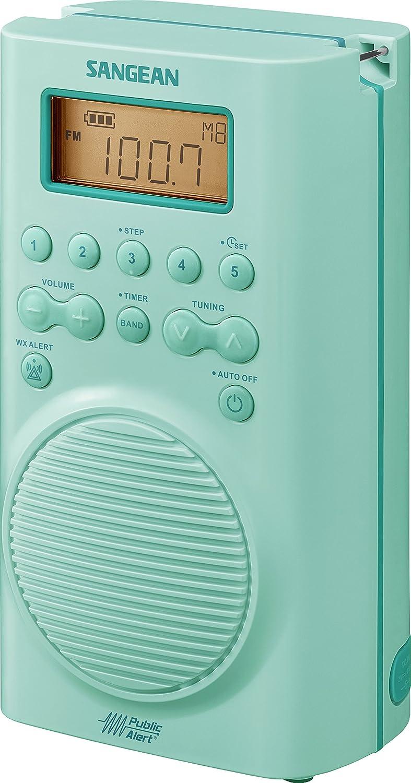 Amazon.com: Sangean H202 AM/FM/Weather, Digital tuned Waterproof ...