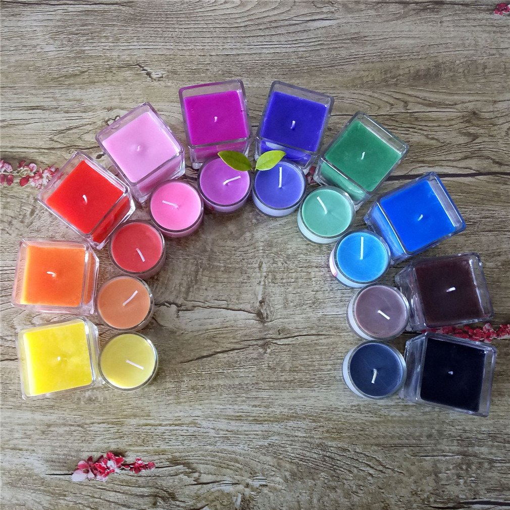 10 Dye Colors for Candle, 125-300 lb of Wax- Colors Dye Chips, Dye Colors, Dye Colors For Candles Making, DIY Natural Soy Wax Candle, Candle Making, Soy Wax Flakes, Soy Wax Candle, 0.18oz/bag