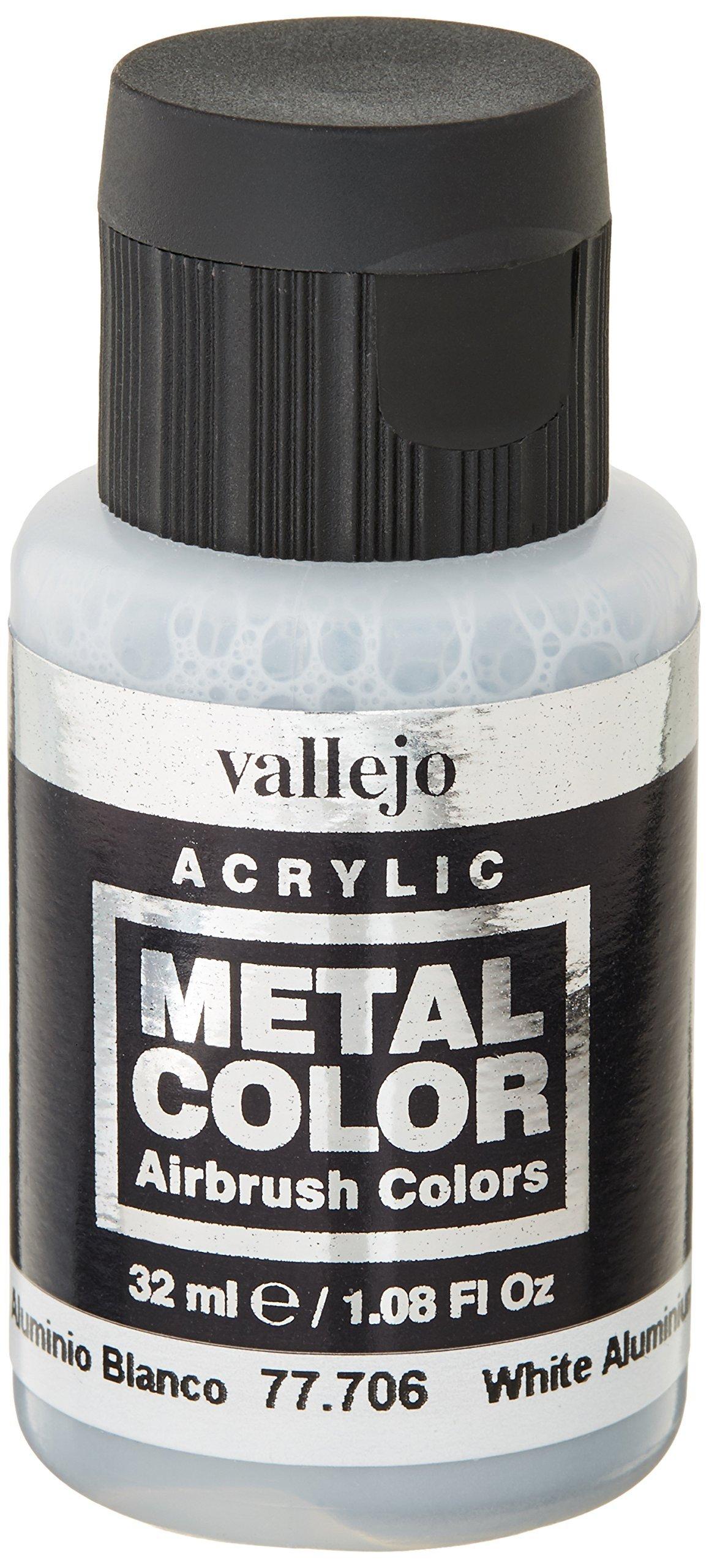 Vallejo White Aluminum Metal Color32ml Paint