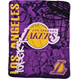 "The Northwest Company Officially Licensed NBA Printed Fleece Throw Blanket, Multi Color, 50"" x 60"""