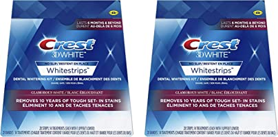 Crest 3D White Whitestrips Glamorous White Teeth Whitening (28 Treatments)