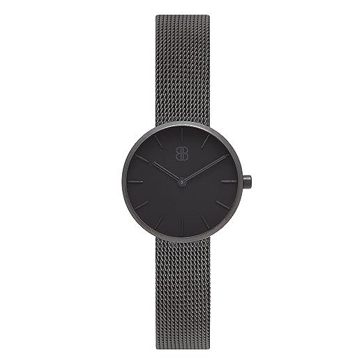 Reloj para Mujer de 30 mm- Elegante Reloj Minimalista de Acero Inoxidable para Mujer Impermeable - Reloj de Pulsera de Lujo de Byron Bond: Amazon.es: ...