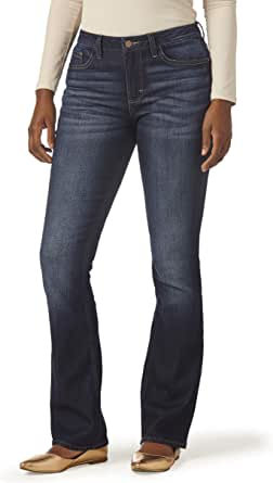 Riders by Lee Indigo Womens Midrise Bootcut Jean Jeans