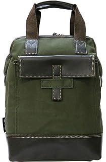 90b64196aec7 (カバンノクニ)鞄の國 ダレス型手さげバッグ ショルダーバッグ リュック 3WAY メンズ 帆布