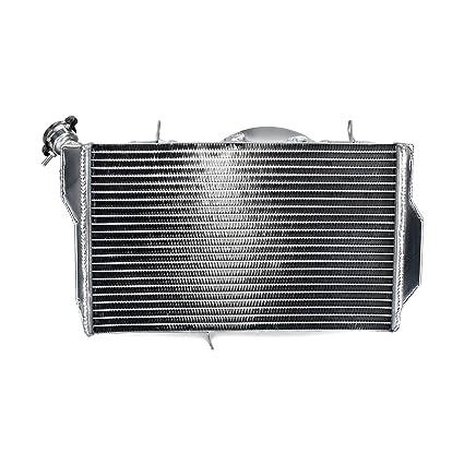 Amazon TARAZON Aluminum Core Engine Water Cooling Radiator For Honda CBR1100XX Blackbird 99 05 Automotive