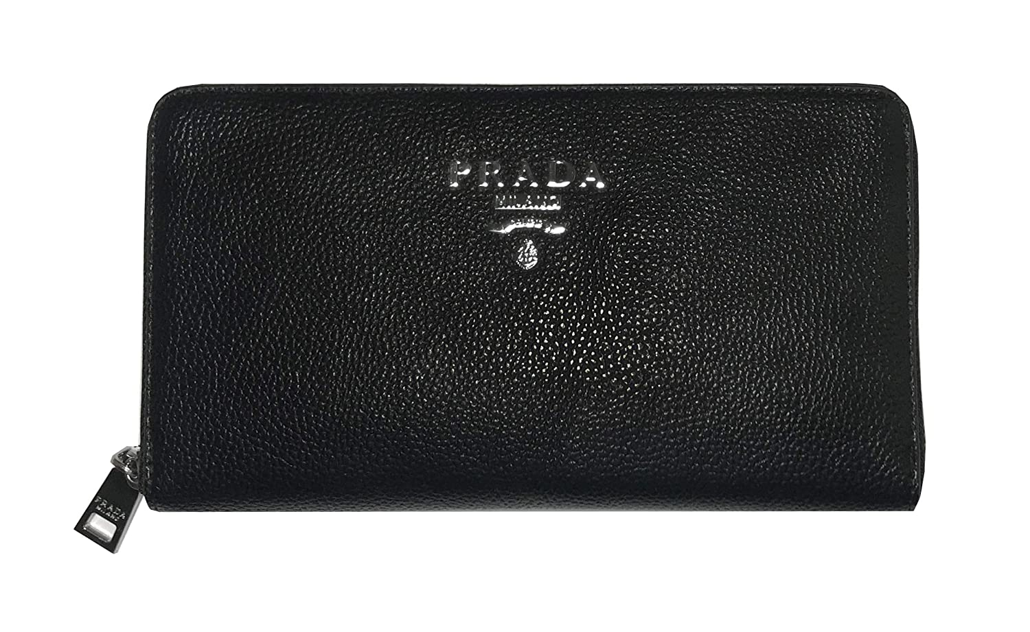 a4aa7b0705fc Amazon.com: Wallet PRADA style large capacity WALLET with cash, cards and  coins compartments 100% Leather GERNIK: GerNik