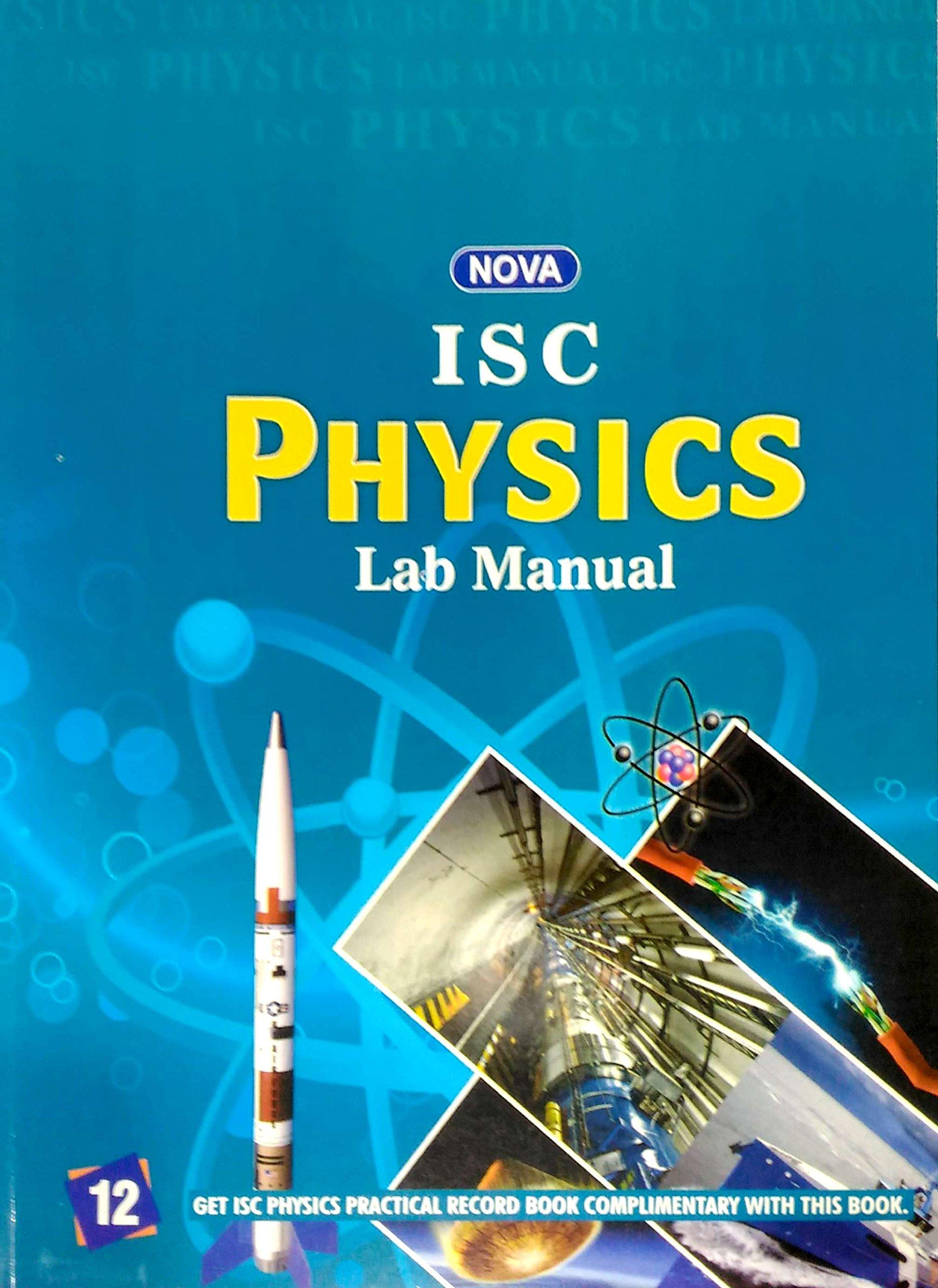 Physics Practical Book Class 12