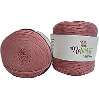 ReTwisst 2 Stück Ballen Textilgarn (ca. 1600-1800 Gramm),Jerseygarn, 2 x ca. 130m Lauflänge, Stoffgarn, Auswahl
