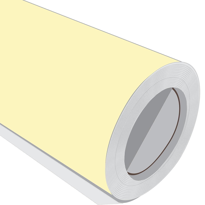JCM gráfica crema crema gráfica brillante vinilo adhesivo rollo 610 mm 1 m 2 m 3 m 5 m 10 m 2 m a2a323