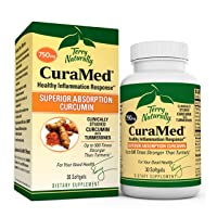 Terry Naturally CuraMed 750 mg - 30 Softgels - Superior Absorption BCM-95 Curcumin...