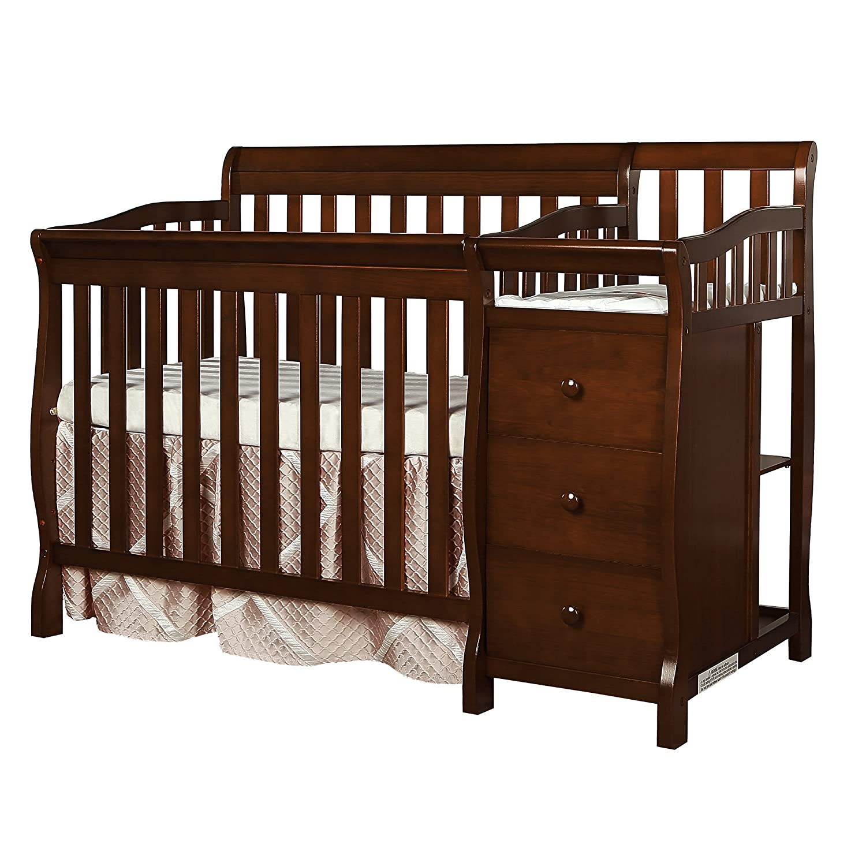Amazon.com : Dream On Me Jayden 4-in-1 Mini Convertible Crib And ...