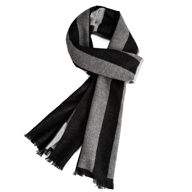 Bufanda cálida de otoño e invierno, VICWARM Bufandas para hombre de estilo clásico y elegante VMSCARF01